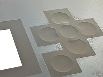 Adhesive printing