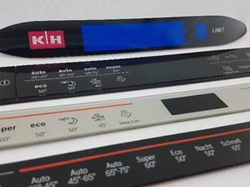 Control panels, front panels